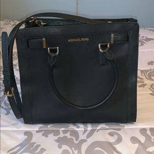 Michael Kors matching wallet and purse.